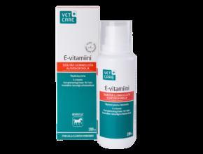 Vetcare-E-Vitamiini-200ml-pakkaus-ja-pullo-1200x800